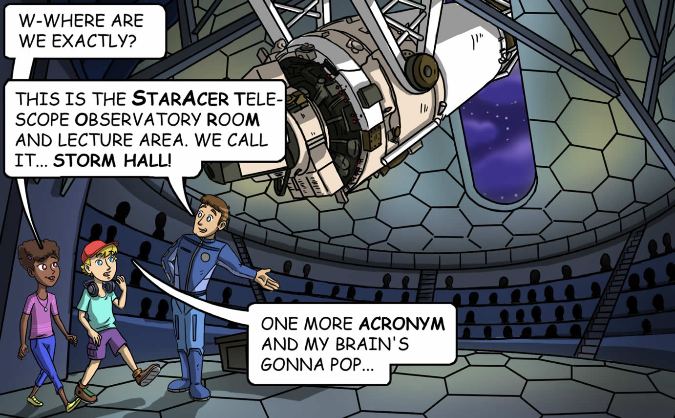 StarAcer Academy Interactive Comic Launch